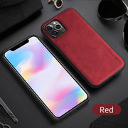 Business leather phone case (6178802204856)