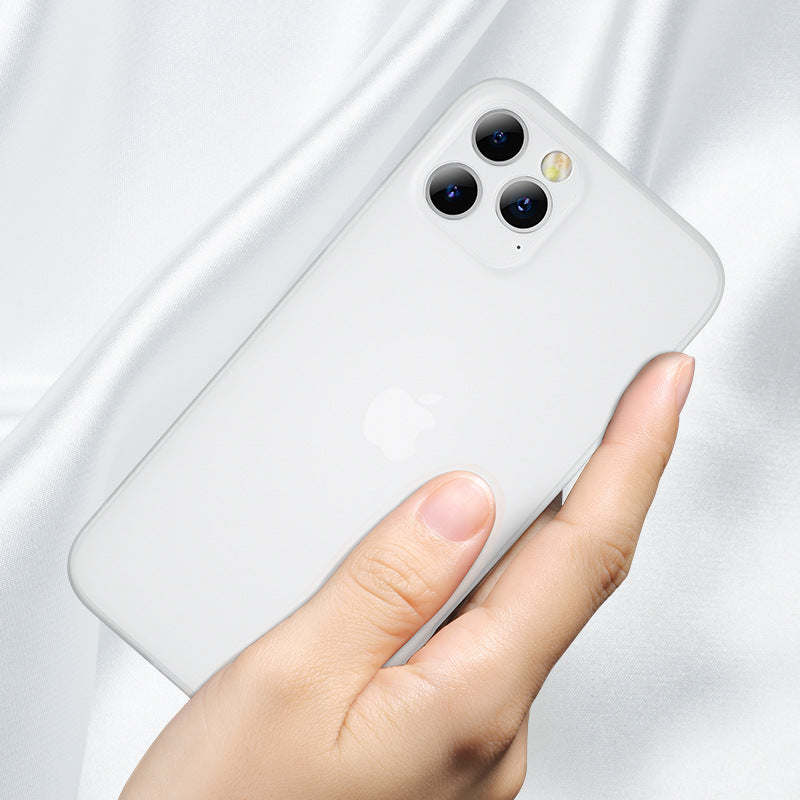 Suitable For IPhone12mini Ultra-thin Mobile Phone Case IPhone12Pro Max Frosted Protective Case (6178596913336)