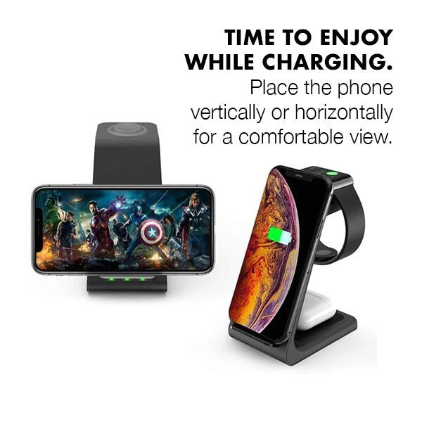 3 in 1 Wireless Charger (4506950107201)