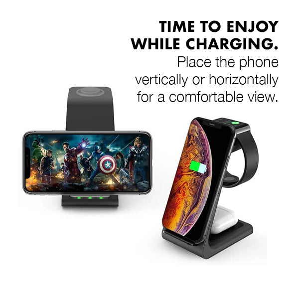 3 in 1 Ultimate Wireless Charger (6062722777272)