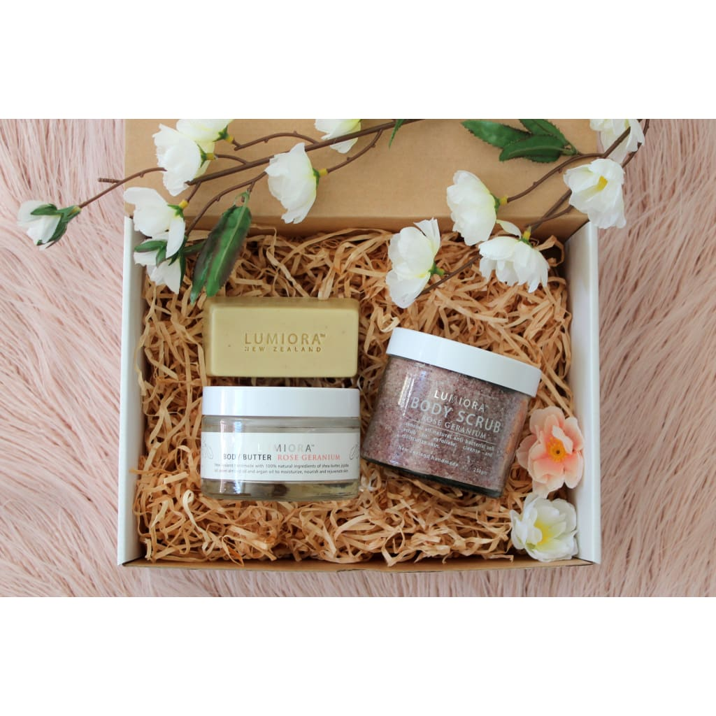 Floral Bath Trio Gift Set