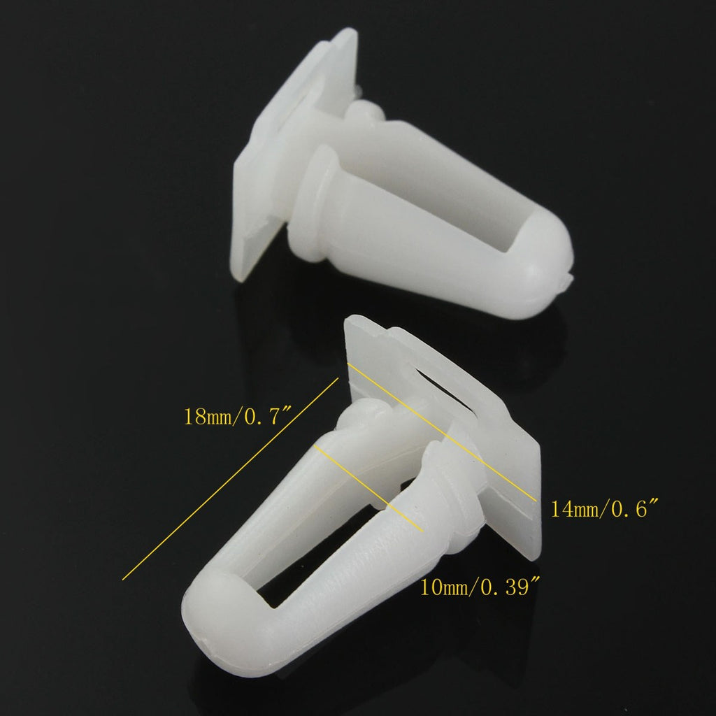 20 PCs Door Sill Trim Moulding Fastener Clips For BMW 3 Series