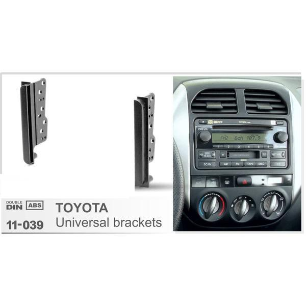 TOYOTA Universal Side Brackets Stereo Panel Mounting Installation Dash