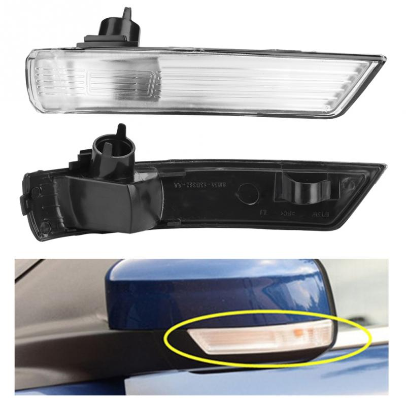 Left Side Wing Mirror Indicator Turn Signal Light Lens Cover for Ford Focus 2008-2018 Ford Mondeo