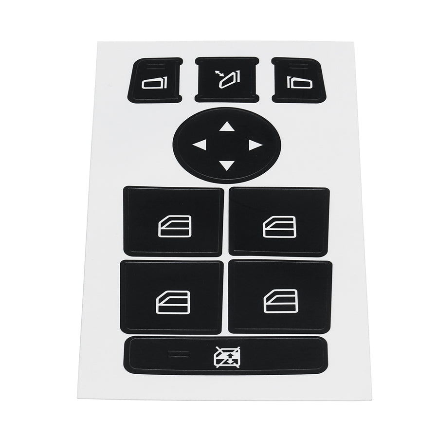 Car Window Switch Button Repair Stickers For Mercedes For Benz 08-14 W204 C300 C350 Button Repair Kit