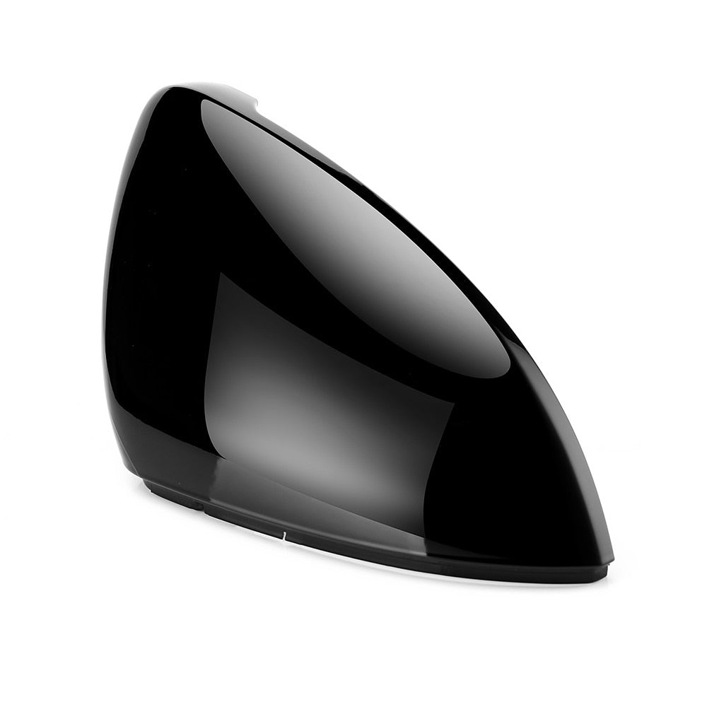 VW Golf 7 MK7 7.5 GTD R GTI Touran L E-GOLF Side Wing Mirror Cover Caps Black RearView Mirror Case Cover