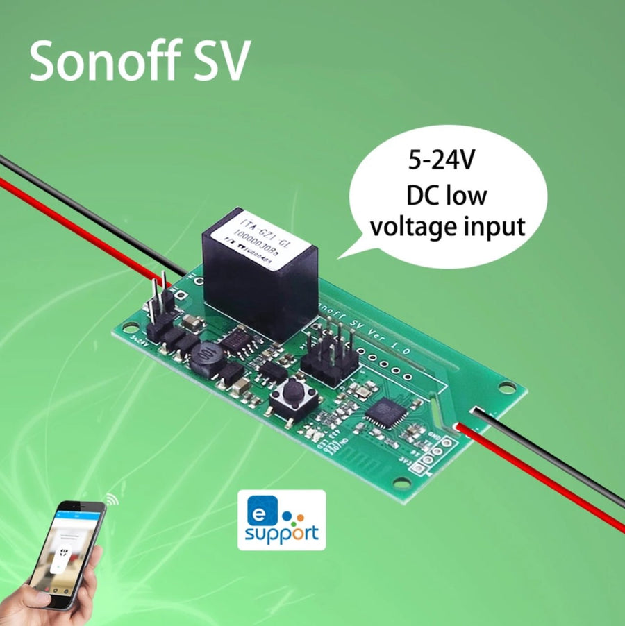 5-24V Low Voltage WiFi Wireless ON/OFF Switch Smart Home