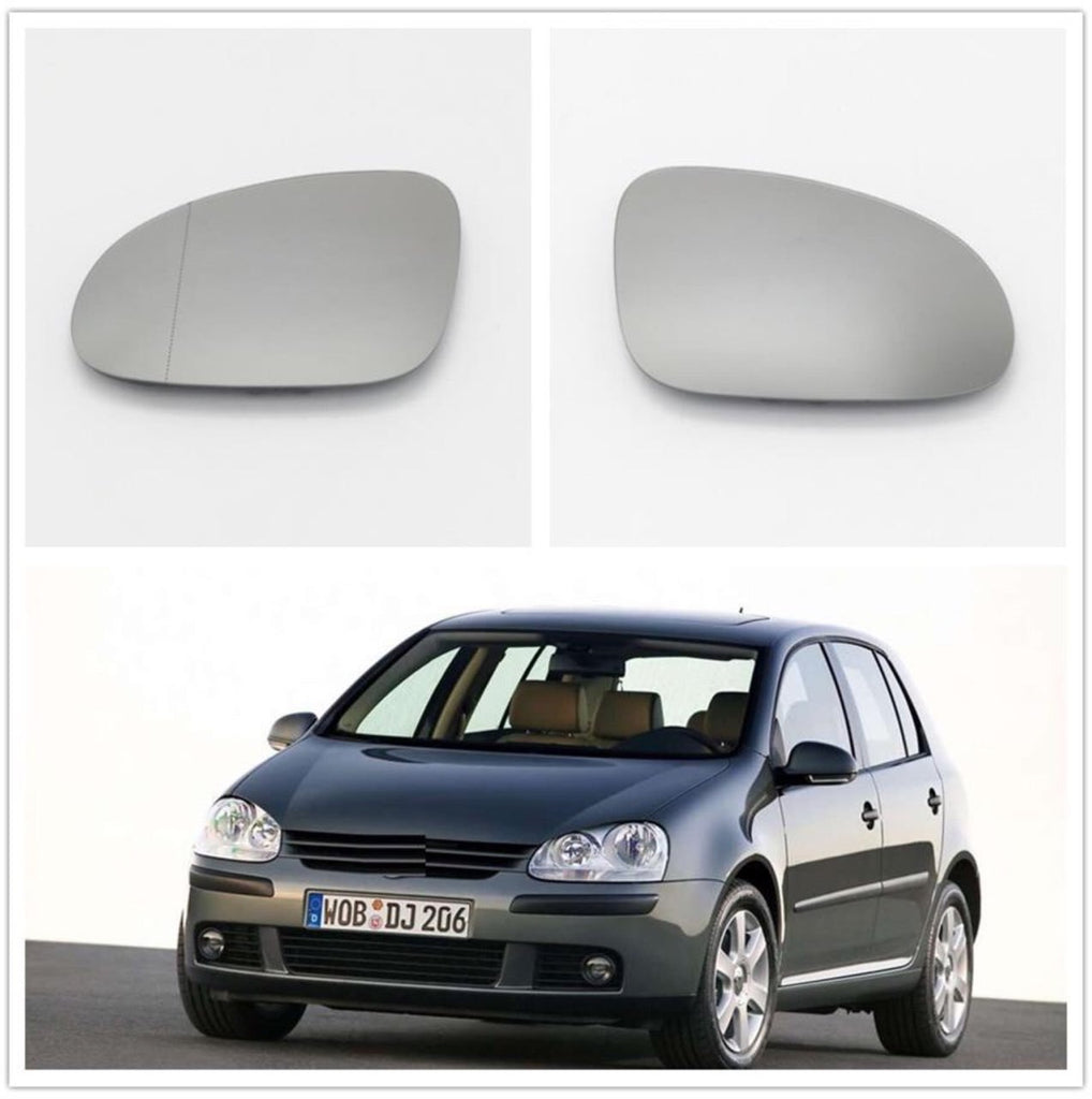 VW Golf 5 MK5 GTI Passat Left Hand Wing Mirror Glass