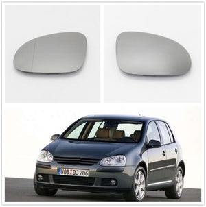 Left + Right VW Golf 5 MK5 GTI Passat Left Hand Wing Mirror Glass