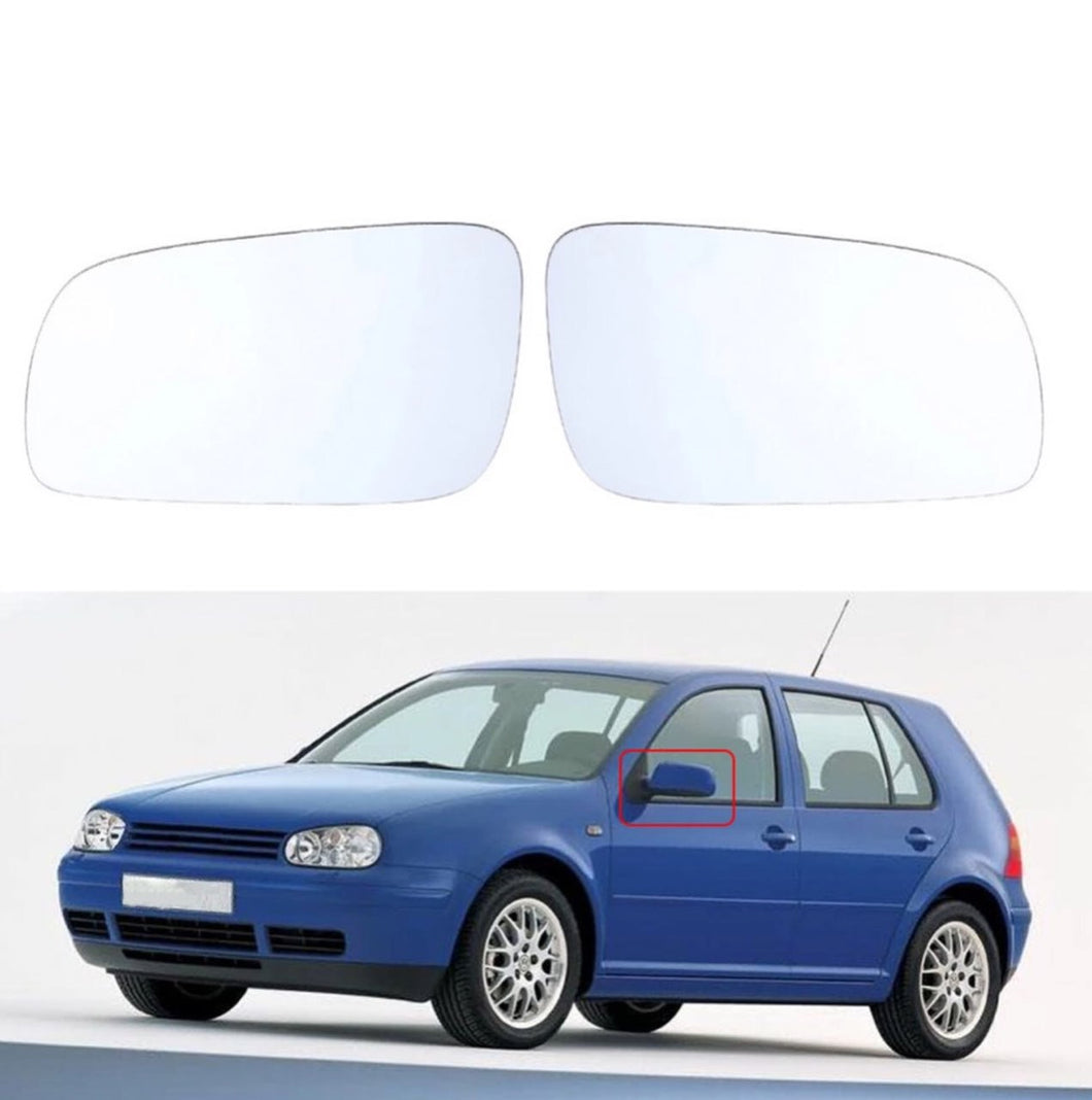 Left Hand Wing Mirror Glass for VW Volkswagen Golf Bora Jetta MK4 Passat 5