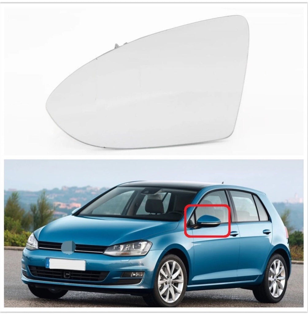 (LEFT) VW GOLF 7 MK7 5G1 BA5 2012-2016 Car Heating Side Mirror Glass