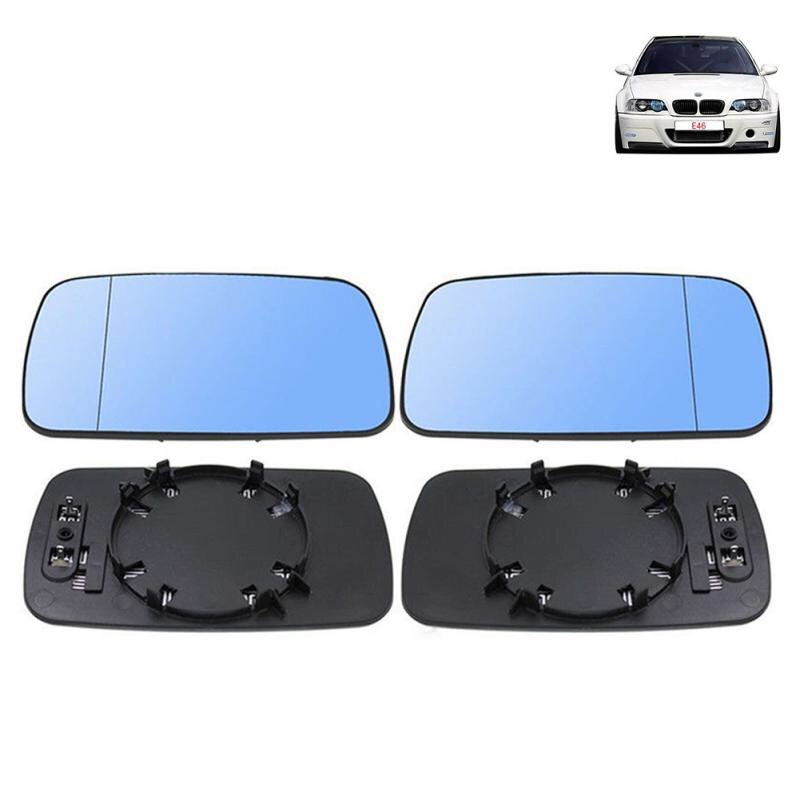 Mirror Glass Fit Left and Right Side For BMW E39 / E46 318i 320i 330i 325i 525i