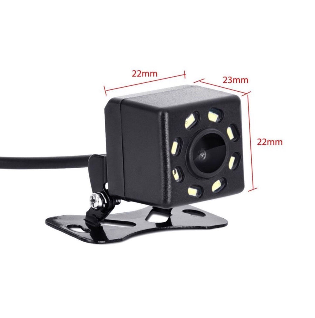 Car Rear View Camera 8 LED Night Vision Reversing Auto Parking for Car Stereo Monitor CCD HD Video