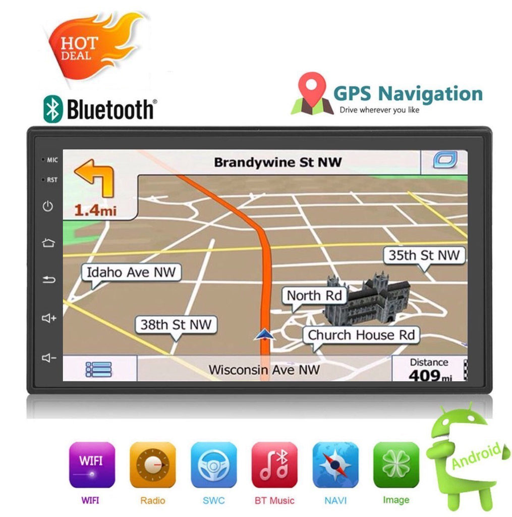 """**DEAL** Car Stereo 2 DIN 7"""" With Reversing Camera GPS"""