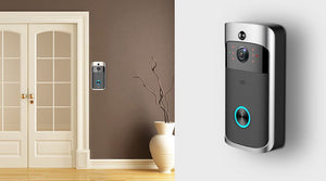 * SPECIAL * WI-FI Video Door Bell + Extra Chime CCTV Doorbell IR Alarm Wireless Security Camera Doorbell