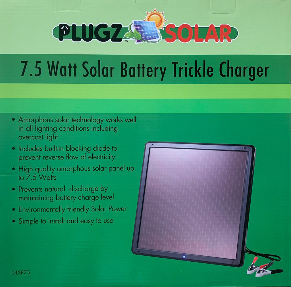 **SPECIAL** 3PCS x 7.5 Watt Solar Battery Trickle Charger - Plug and Play Kit for Car, Marine, Camping, Campervans