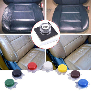 Liquid Skin Car Seat Sofa Leather Repair Coats Holes Scratch Cracks Repair Kit