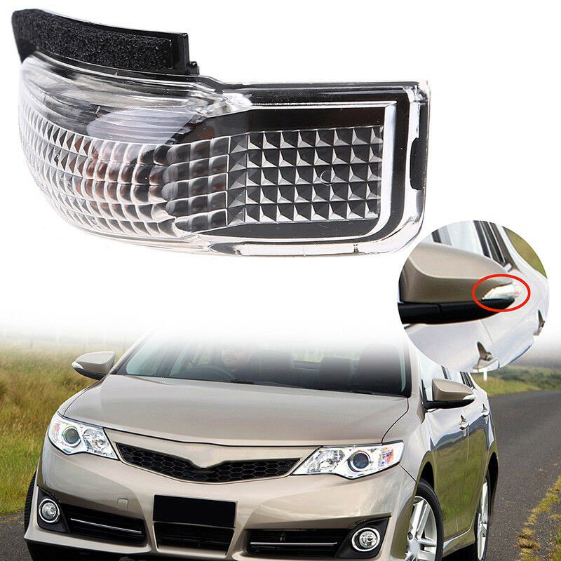 2Pin Left Side Mirror Indicator Turn Signal Light For Toyota Camry Avalon Corolla RAV4 Prius