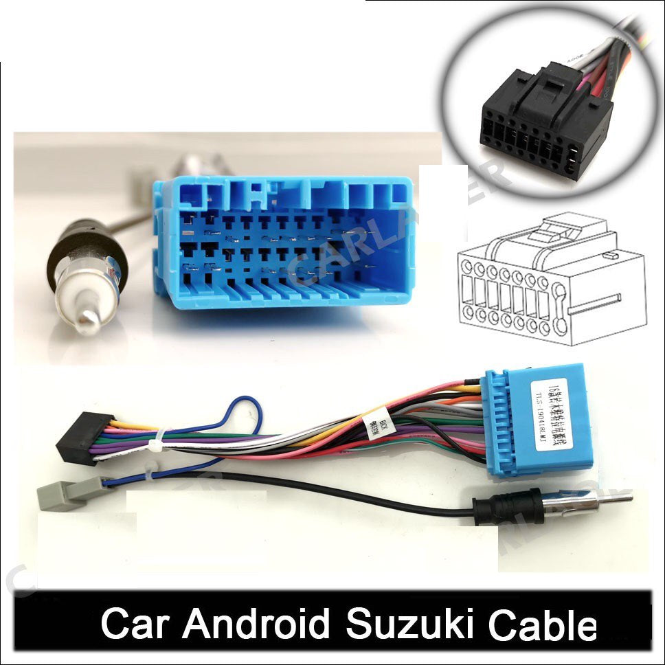 "**SPECIAL!** Android 8.1 Car Stereo 2 DIN 7"" with Honda / Suzuki Harness, Camera, GPS Navigation, Bluetooth, USB"