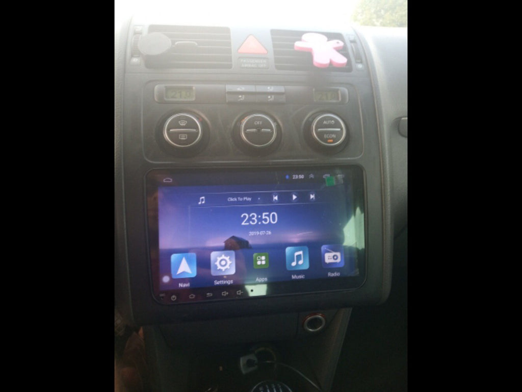 VW Android 8.1 Double DIN Head Unit + Reversing Camera for Volkswagen, Skoda Bluetooth, Radio, Video Player