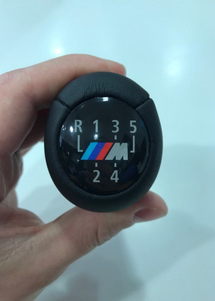 5 Speed Car Gear Shift Knob With M Logo For BMW 1 3 5 6 Series E32 E34 E36 E38 E39 E46 E53 E60 E63 E83 E84 E90 E91 /
