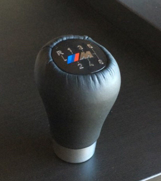 6 Speed Car Gear Shift Knob With M Logo For BMW 1 3 5 6 Series E30 E32 E34 E36 E38 E39 E46 E53 E60 E63 E83 E84 E90 E91 /