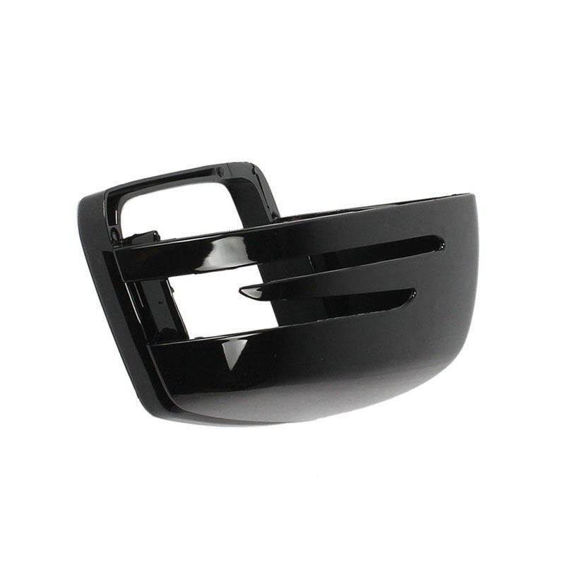 LEFT Black Wing Mirror Cover For Mercedes-Benz C-Class W176 W246 W204 W212 W221 CLS X156 C117