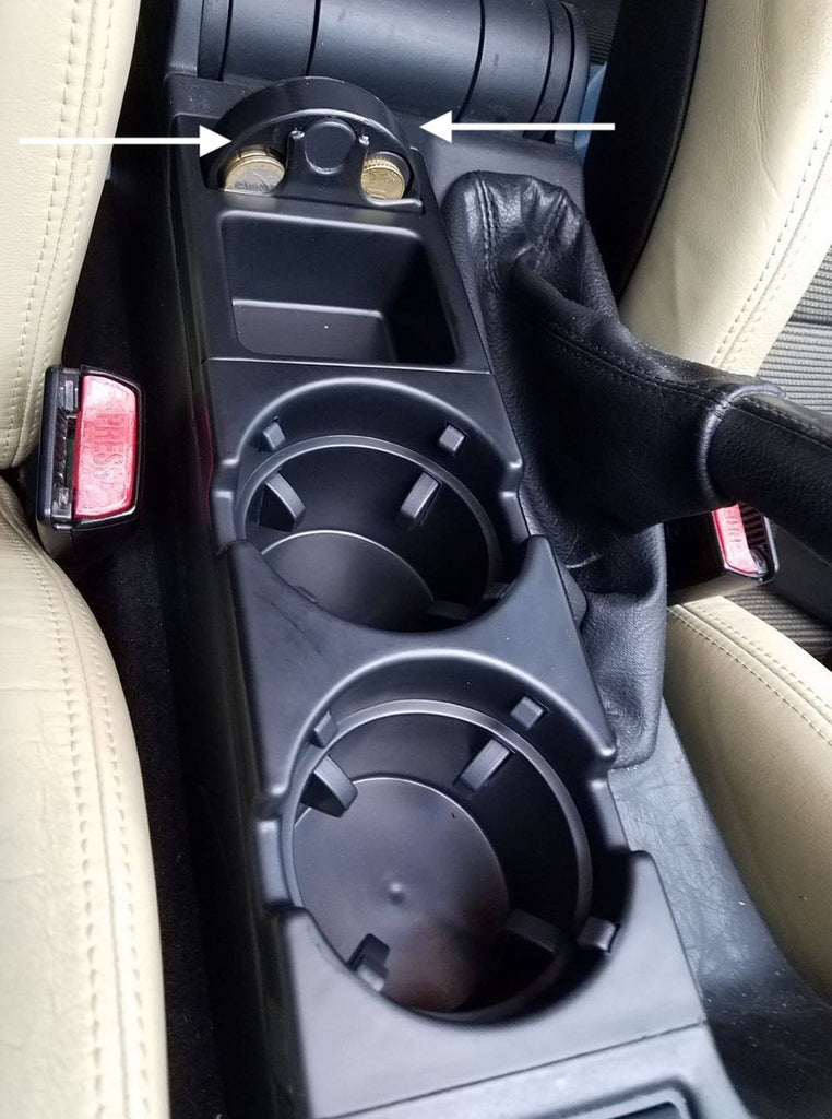 Front Center Console Change Box for BMW E46 3 Series
