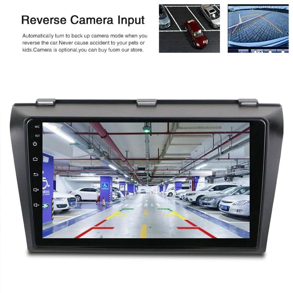 Mazda 3 Android Car GPS Stereo 1G 16G WIFI Free MAP Quad Core 2 din Multimedia for Mazda Axela 2004-2009
