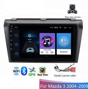 Mazda 3 Android Car GPS Stereo 1G 16G WIFI Free MAP Quad Core 2 din Multimedia for Mazda 3 2004-2009