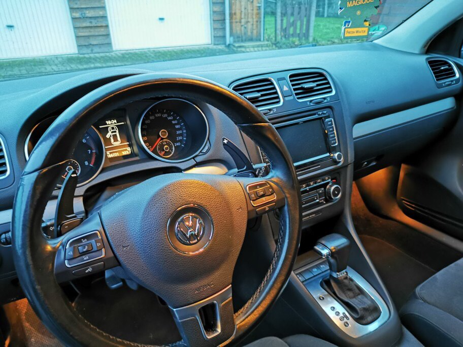 Steering Wheel Paddle Extend DSG Direct Shift Gear Paddle Extension For VW Tiguan Golf 6 MK5 MK6 Jetta GTI R20 R36