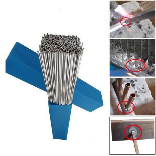20pcs 2mm*500mm Low Temperature Welding Wire Aluminum Welding Electrode Flux Core Aluminum Electrode (no Flux) Multi-tools