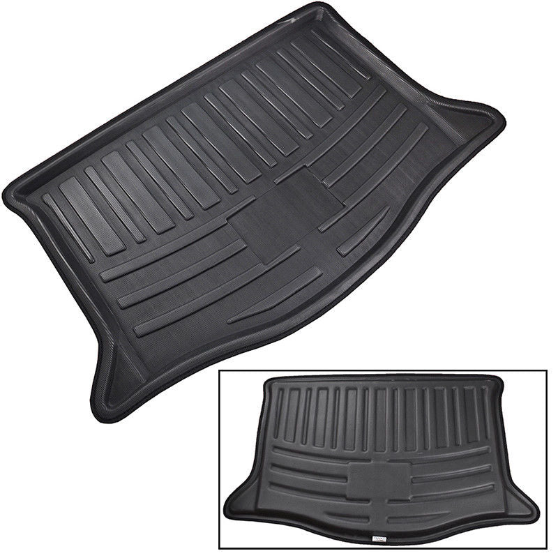 Rear Cargo Trunk Boot Mat Liner Floor Tray For Honda Fit / Jazz 2007-2013