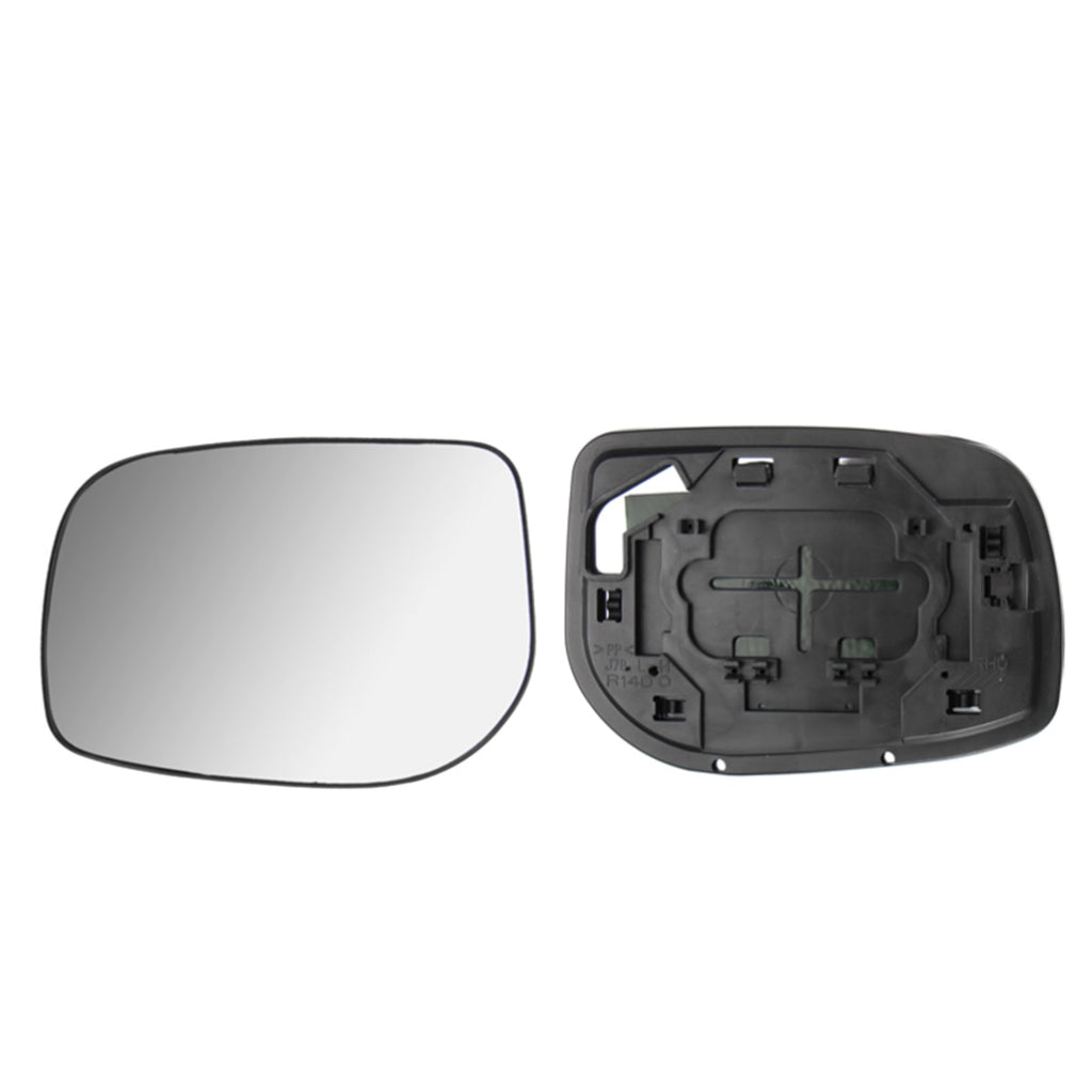 Right Side Wing Mirror Glass Compatible with Toyota Yaris Vitz 2005 2006 2007 2008 2009 2010