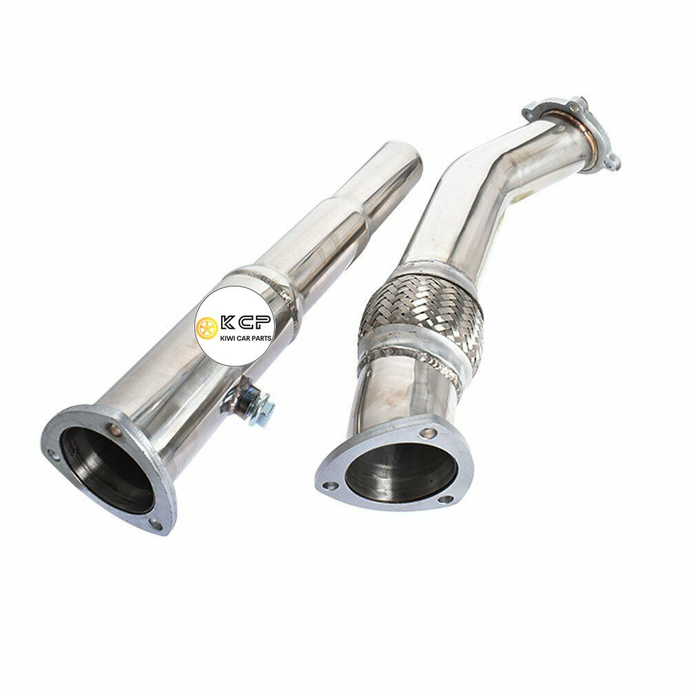 Stainless Steel Turbo Downpipe Compatible Fit for 00-04 Volkswagen Golf VW / Jetta / Beetle 1.8L