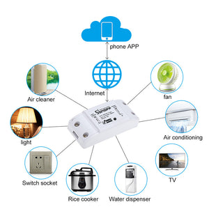 IOS Android Smart Wifi Wireless Remote Switch - Home Controller Works with Alexa