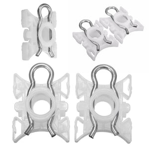 8 pcs/set Front Window Regulator Repair Kit Sliding Pivot Clips for BMW Roller Lifter Clips