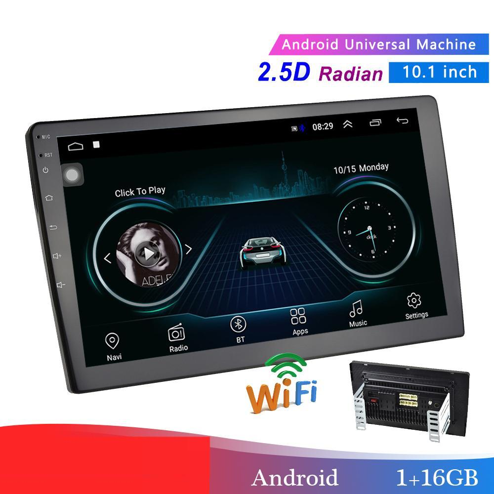 "10.1"" Car Multimedia Player 2 din Android Car Stereo Radio Bluetooth WIFI Audio Mirrorlink MP5 Player With Rear Camera"