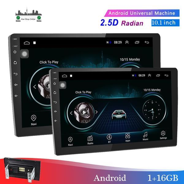 "2 DIN Car Radio 10.1"" Android Player Subwoofer MP5 Player Bluetooth 8 IR Rear View Camera"