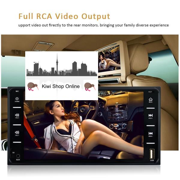 ***NEW*** Compatible with Toyota Car Stereo Head Unit + Rear View Camera, Bluetooth, Radio, Video Player
