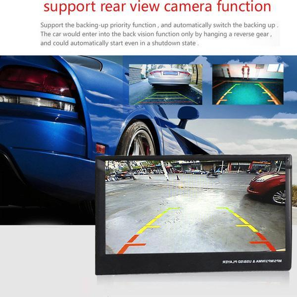 Car Stereo 2 DIN 7 inch Head Unit with Rear View Camera, Bluetooth, Remote