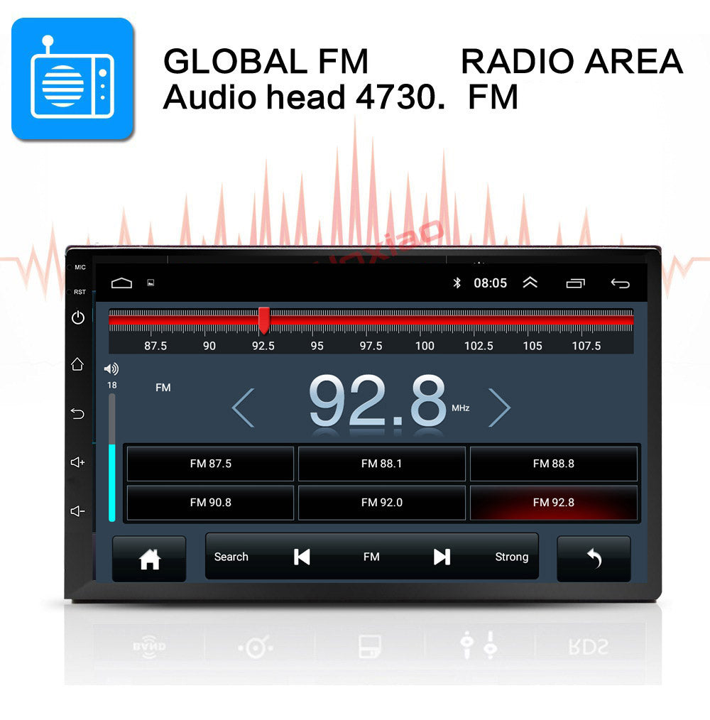 "**SPECIAL!** Android 8.1 Car Stereo 2 DIN 7"" + Compatible with NISSAN Harness, GPS Navigation, Bluetooth, USB"