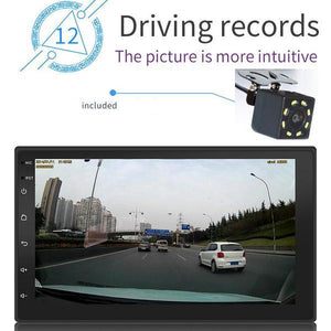 "* DEAL * 2 DIN Android Car Stereo 7"" MP5 Player + Camera, GPS Navigation, Bluetooth, USB"
