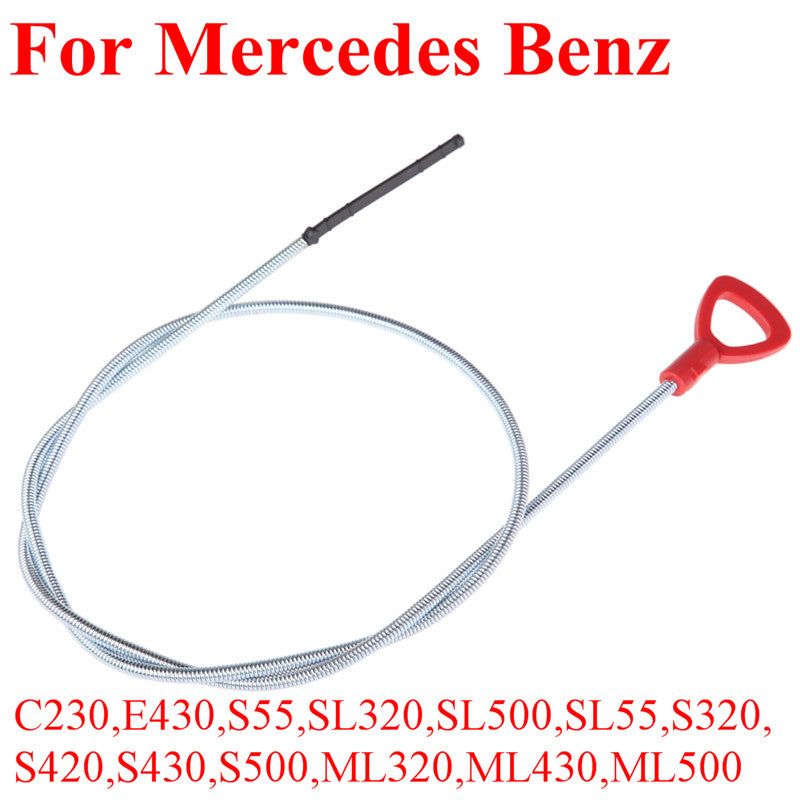 Engine Oil Dipstick Transmission Fluid Dipstick Oil Level Measure Tool for Mercedes Benz 1220mm