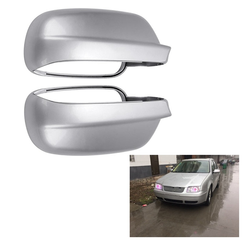 LEFT Side Rearview Mirror Cover Fit For-Vw Bora Passat B5 Golf Jetta Mk4 1999 To 2004