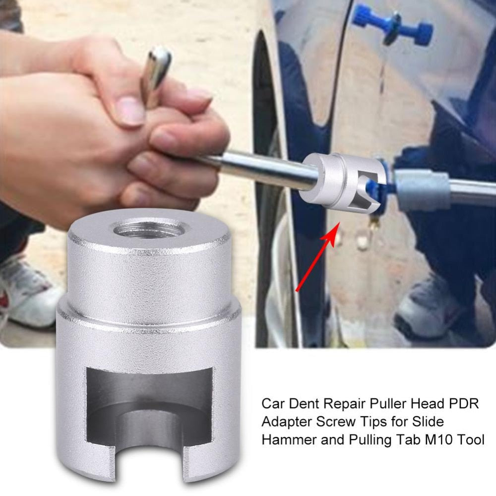 Car Dent Repair Puller Head Paintless Dent Repair Hail Removal Kit Adapter Screw