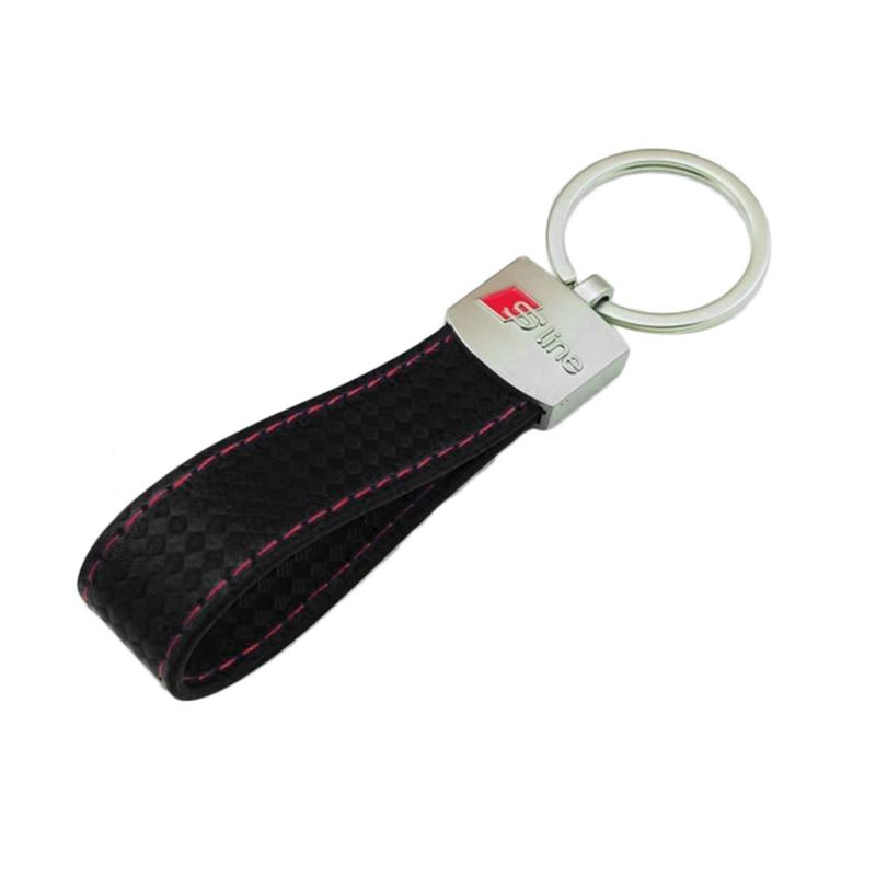 Fashion Car Key Ring Logo Keychain For Audi A3 S3 A4 RS4 A6 A8 TT R8