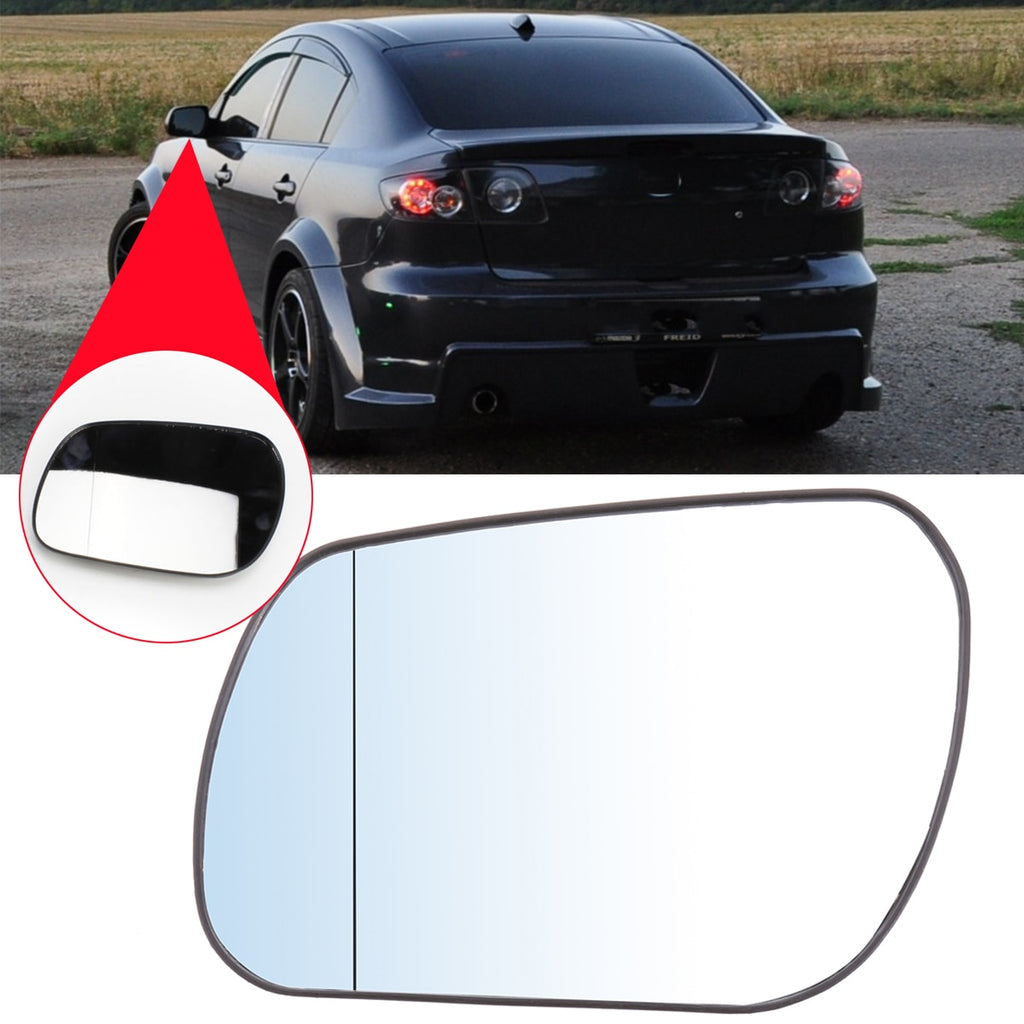 Mazda 3 Left Side Mirror Glass for Mazda 3 2004-08 for Mazda 6 2003-06