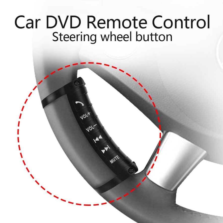 Car Universal Steering Wheel Remote Control DVD Android Bluetooth 2 DIN Car Stereo Car Audio
