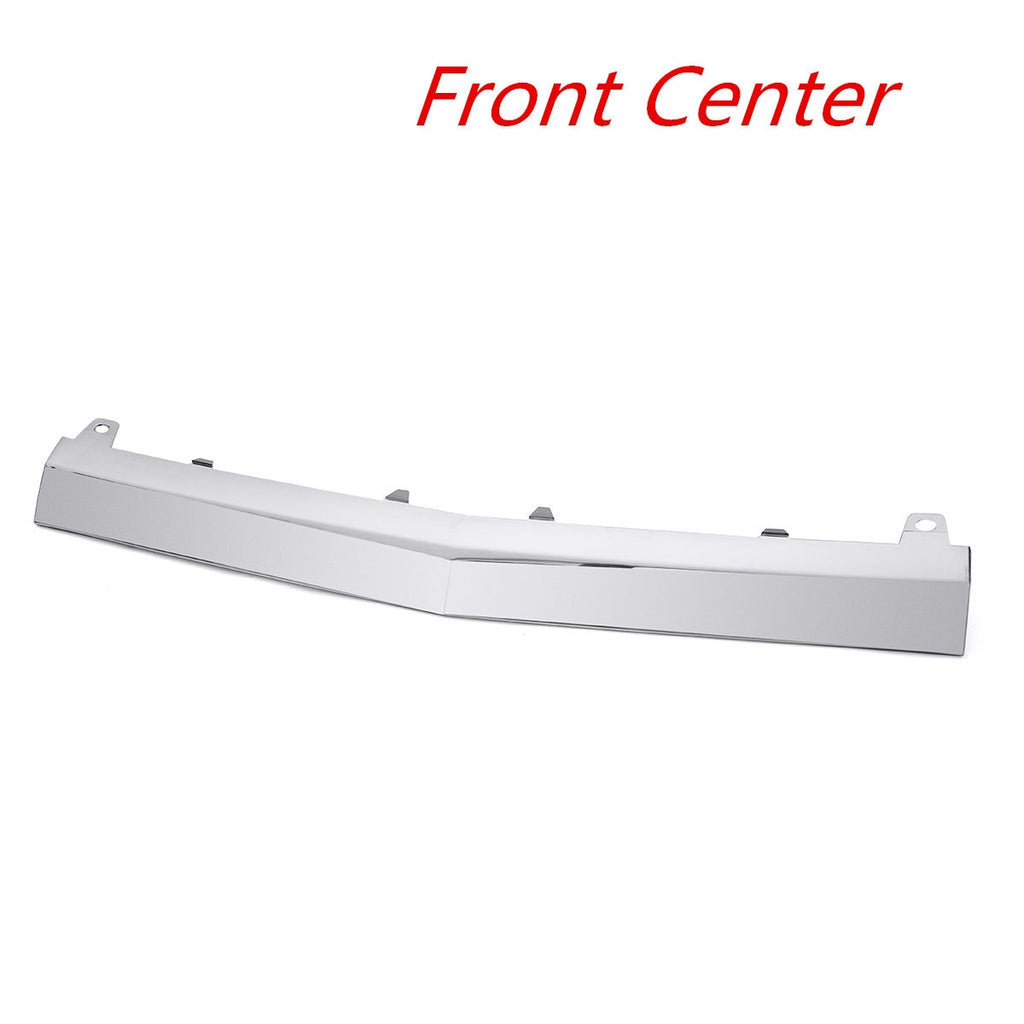 Chrome Front Lower Bumper Protector Trim For Mercedes Benz W205 C300 C400 C63 For AMG